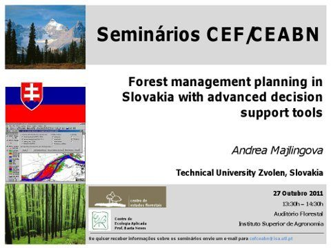 Forest management Slovakia